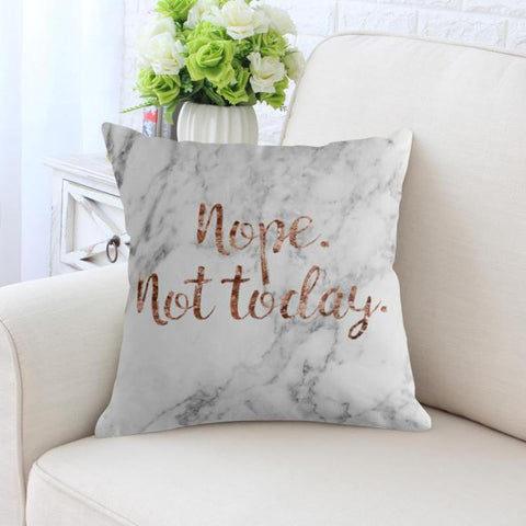 Nope Not Today Original Cushion Covers