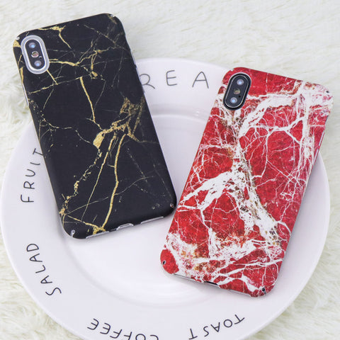 Black/gold And White/red Phone Case For Iphone