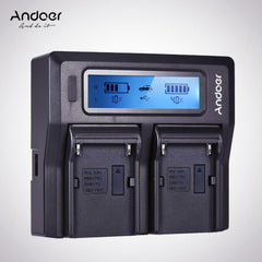 Dual Digital Battery Charger
