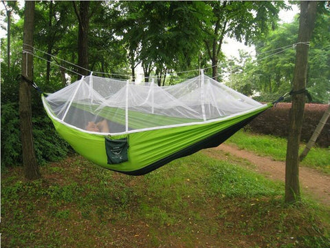 Ultralight Tree Hammock with Mosquito Net