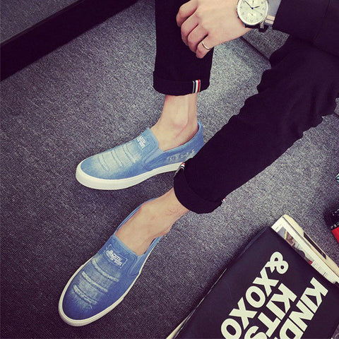 Fashionable Canvas Loafers for Men