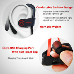 Waterproof Sports Wireless Bluetooth Earbuds