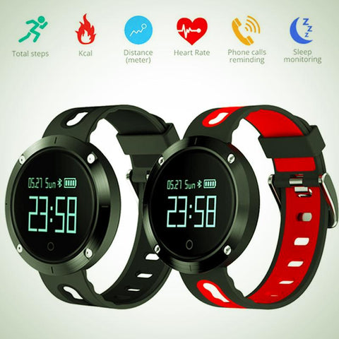 SmartWatch Blood pressure and Heart rate Monitor