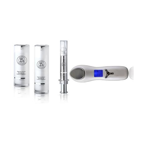 Anti-Aging Brightening Set Plus Non-Surgical Anti-Aging Dual Face & Eye Ultrasonic Infuser - luminanrg