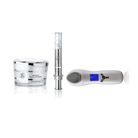 Instant Lift Duo Set Plus Non-Surgical Anti-Aging Dual Face & Eye Ultrasonic Infuser - luminanrg