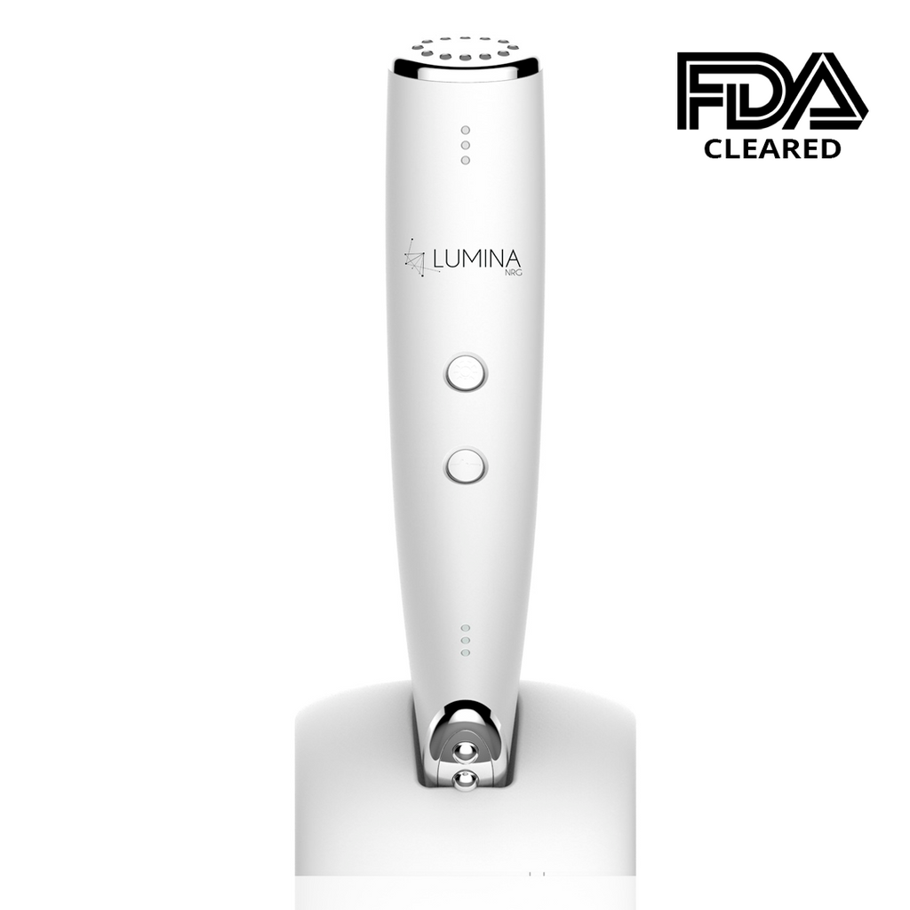 Microcurrent Facial Toning Device - 3-In-1 Anti-Aging - Lumina NRG