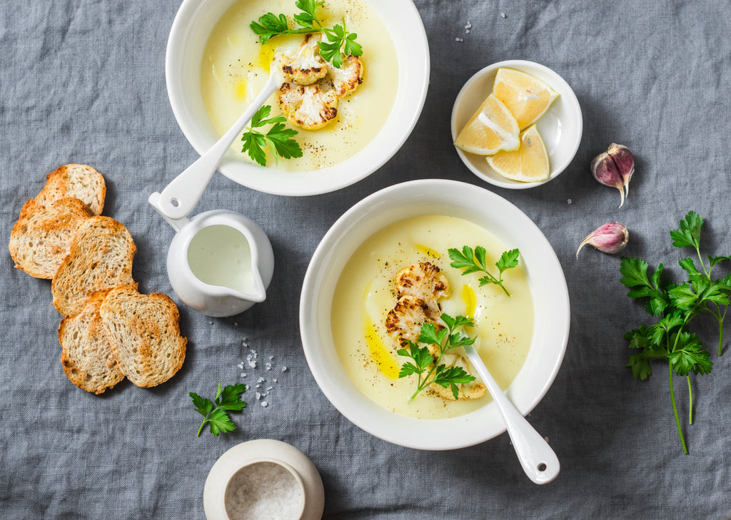 Anti-Inflammatory Cauliflower Soup Recipe