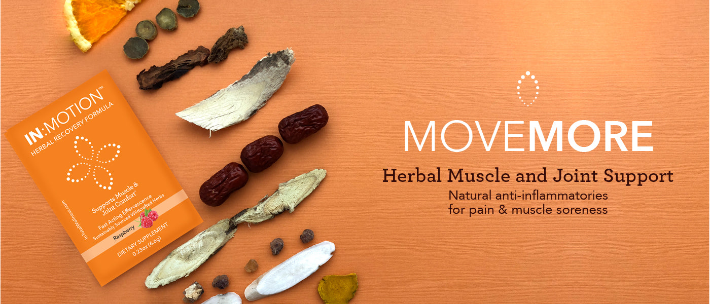 IN:MOTION - Raspberry - Herbal Muscle and Joint Support