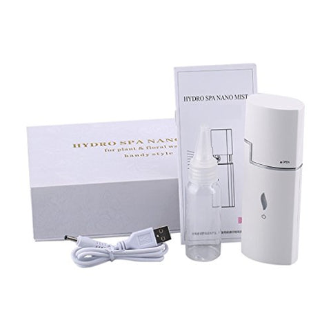 Portable Face Fine Mist Spray Hydrating Moisturizing Facial Humectant - Perfect Eye Eyelash & Face Skin Care Sprayer