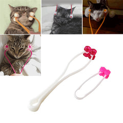 Cat Face Massager - Puppy Dog Cat Thin Face Massager Feet Legs Relief Grooming Tool