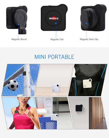 Mini Wifi Camera HD 720P Secret Camera Cam Digital Video Recorder IR Sport Camera Support IP AP for IOS and Android Smartphone Night Vision