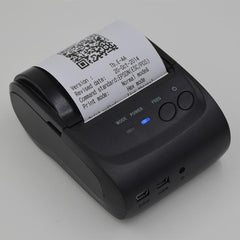 USB Thermal Receipt Printer Portable Mini Wireless Bluetooth Ticket POS Printer - iOS Android Windows - Light Weight & Rechargeable