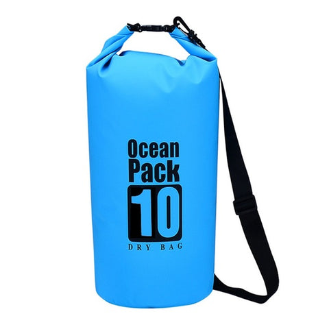 Floating Waterproof Dry Bag - Roll Top Compression Sack Keeps Gear Dry for Kayaking, Rafting, Boating, Swimming, Camping, Hiking, Beach, Fishing, Scuba Diving, Beach
