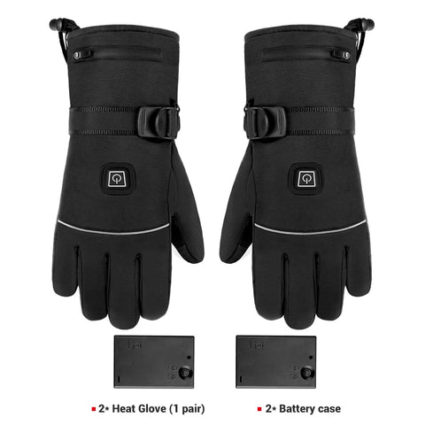 Motorcycle Gloves Waterproof Heated Guantes