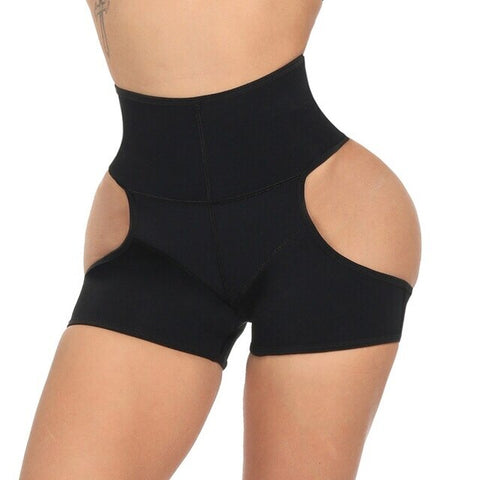 Latex Waist Trainer Control Butt Shaper Underwear