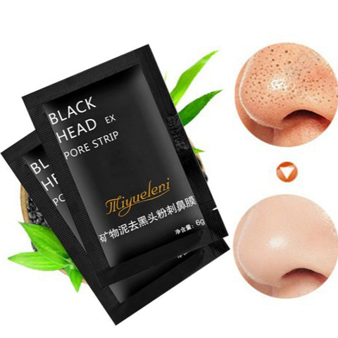 1 Pcs Sell Bamboo Charcoal Blackhead Remove Facial Masks