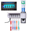 Image of UV Light Toothbrush Holder and Toothpaste Dispenser