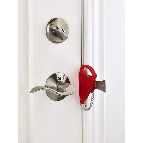 Portable Hotel Door Lock Locks Self-Defense Door Stop Travel Travel Accommodation Door Stopper Door Lock