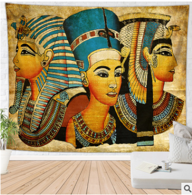 Abstract Art Tapestry Egypt Style