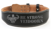 Image of Leather Weightlifting Belt Gym