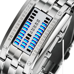 Futuristic Digital Wrist Watch