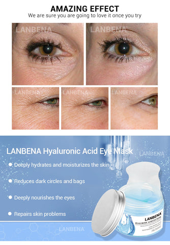 Retinol Eye Patches Hyaluronic Acid Moisturizing Eye Masks