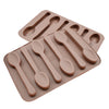 Image of CHOCOLATE SPOON MOULD