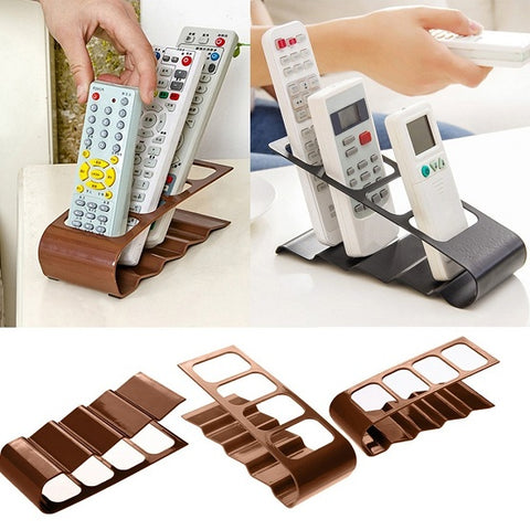 Four-Slot Remote Control Caddy