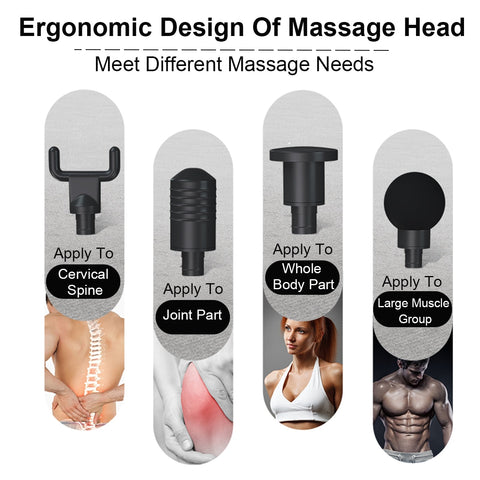 3 Gears Muscle Massager