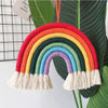 Image of Kids Room Rainbow Hanging Decoration Rainbow Wall Hanging Decor