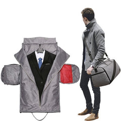 2 in 1 Garment + Duffle Bag