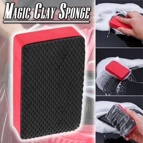 Magic Car Cleaning Clay Sponge