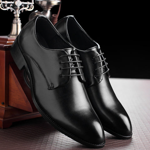 Black Leather Formal Business Shoe
