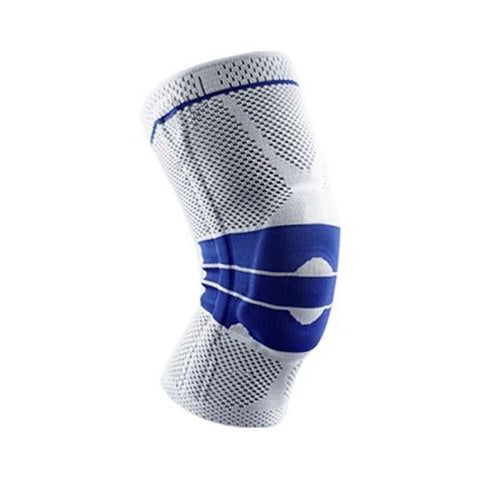 Silicone Spring Knee Brace Sport Support Strong Meniscus Protection Compression Lnee Pads