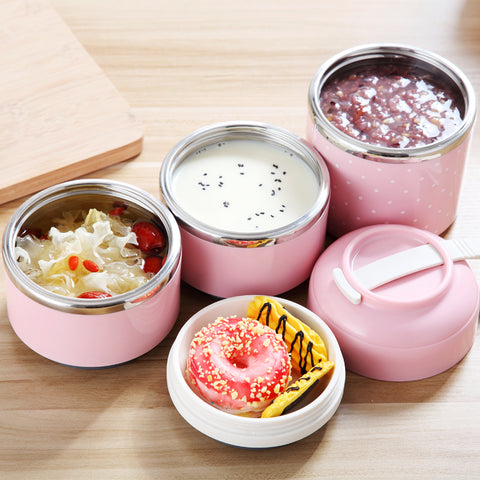 Leak-Proof Stainless Steel Thermal Lunch Box
