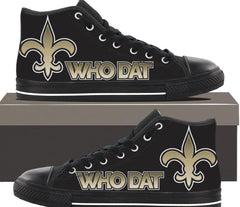 Who Dat - Womens Hightop