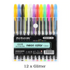 Image of Glitter Gel Pens 12pcs