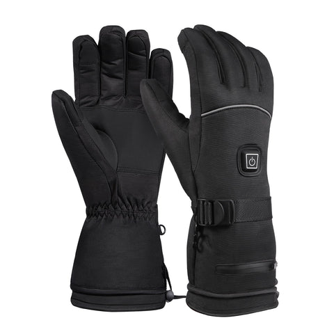 Winter ski Gloves Electric Heated Warm