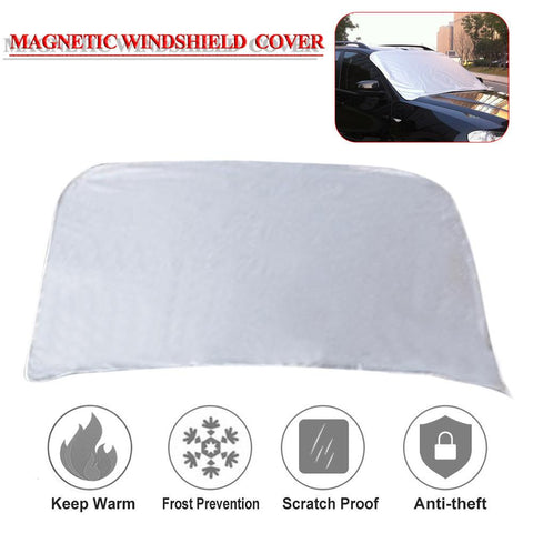 Magnetic Snowshield Cover