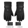 Image of Motorcycle Gloves Waterproof Heated Guantes