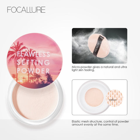 Translucent Light Smooth Setting Powder Waterproof Oil-control