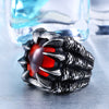 Image of Dragon Claw Steel Ring