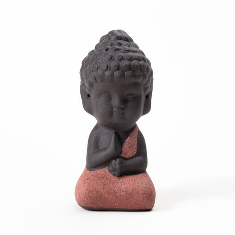 Small Buddha Charm Figurine Jewelry Display Decoration