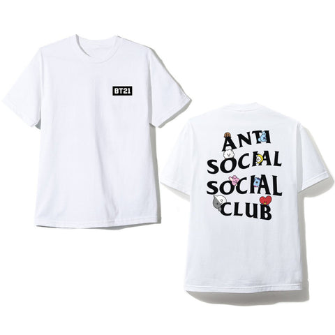BTS x BT21 Exclusive Peekaboo T-Shirt