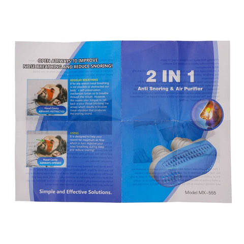 Silicone Anti Snore Nasal Dilators Apnea Aid Device