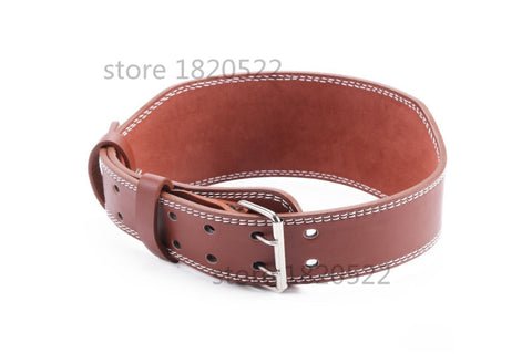 Leather Weightlifting Belt Gym