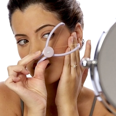 DIY Easy Facial Threader Hair Remover