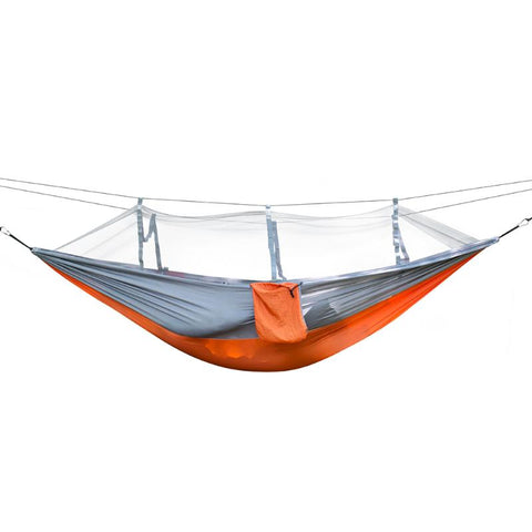 Lightweight Hammock for Camping or Just Hangin' in the Yard w/Mosquito Net