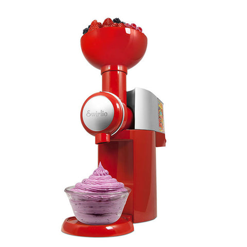 Big Boss Super Fun Swirlio Automatic Frozen Fruit Ice Cream, Dessert Maker & Milkshake Machine