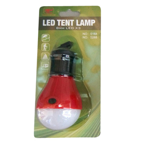Outdoor Portable Hanging LED Camping Tent Light Bulb Fishing Light